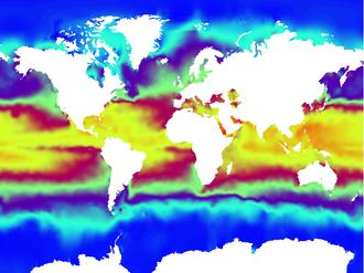 CORA dataset - CORA3.2 2012 July Sea Surface Temperature