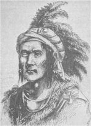 Tenskwatawa - Tenskwatawa sketch