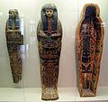 Terzo periodo intermedio, XXI dinastia, sarcofago e copertura di mummia del sacerdote di amon Ched(sou)khonsou, 970-45 ac ca, da tebe 01.JPG