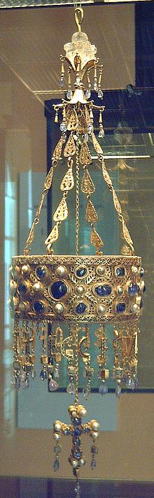 Baños Romanos En Toledo:Visigothic Votive Crowns