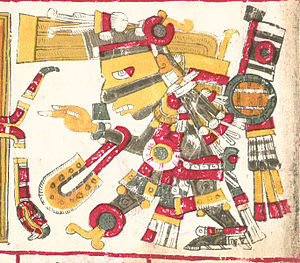 Tezcatlipoca - Tezcatlipoca one of the deities described in the Codex Borgia.