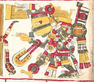 Tezcatlipoca - Tezcatlipoca one of the deities described in the Codex Borgia.