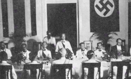 Thai diplomatic corps in the Reich, 1943 Thai-German in Berlin 1943.png