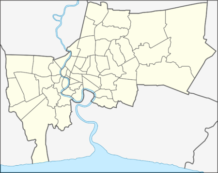 Thai League is located in Bangkok