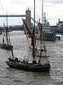 Thames barge parade - in the Pool - Centaur - Reminder 6708.JPG