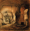 Thames tunnel construction 1830.jpg