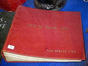 This Is Your Life (UK TV series) - The big red book for fireman Tom Breaks, Mon 26 Mar 1962
