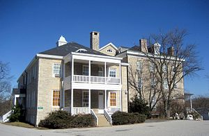 Historical Society of Baltimore County - The Almshouse circa 2008