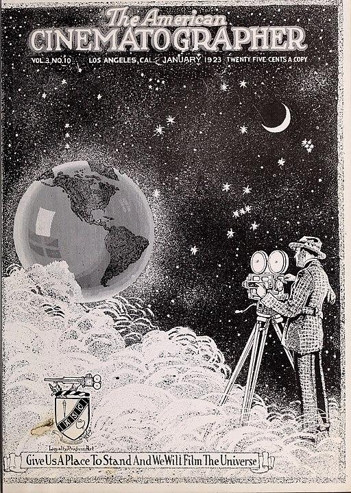 The American Cinematographer. 1923-01 Vol. III no. 10 cover
