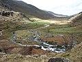 The Braided Ogwen below Rhaeadr Ogwen Falls - geograph.org.uk - 239326.jpg