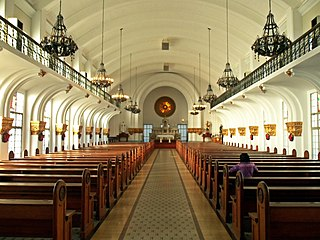 Chapel of the Most Blessed Sacrament Church in Manila, Philippines