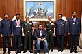 The Chief of Army Staff, General Bipin Rawat in a group photograph with the Army Paralympic Athletes Asian Games - 2018, in New Delhi on October 16, 2018.JPG