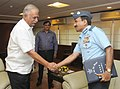 The Chief of the Air Staff, Air Chief Marshal Arup Raha calling on the Union Minister for Civil Aviation, Shri Ashok Gajapathi Raju Pusapati, in New Delhi on June 16, 2014.jpg