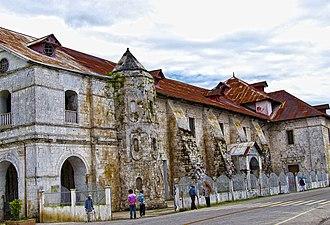 Loboc Church - Thick walls of the church