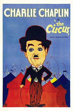 The Circus (1928) - Hap Hadley poster.jpg