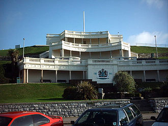 Plymouth Hoe - The Belvedere.