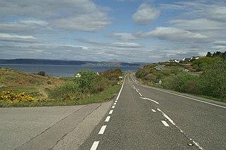 A830 road road in Scotland