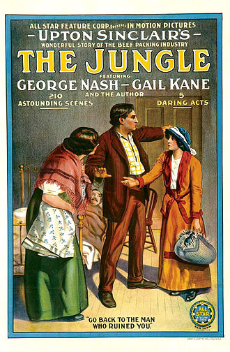 The Jungle (1914 film) - Image: The Jungle Film Poster