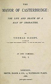 Книги Томаса Харди