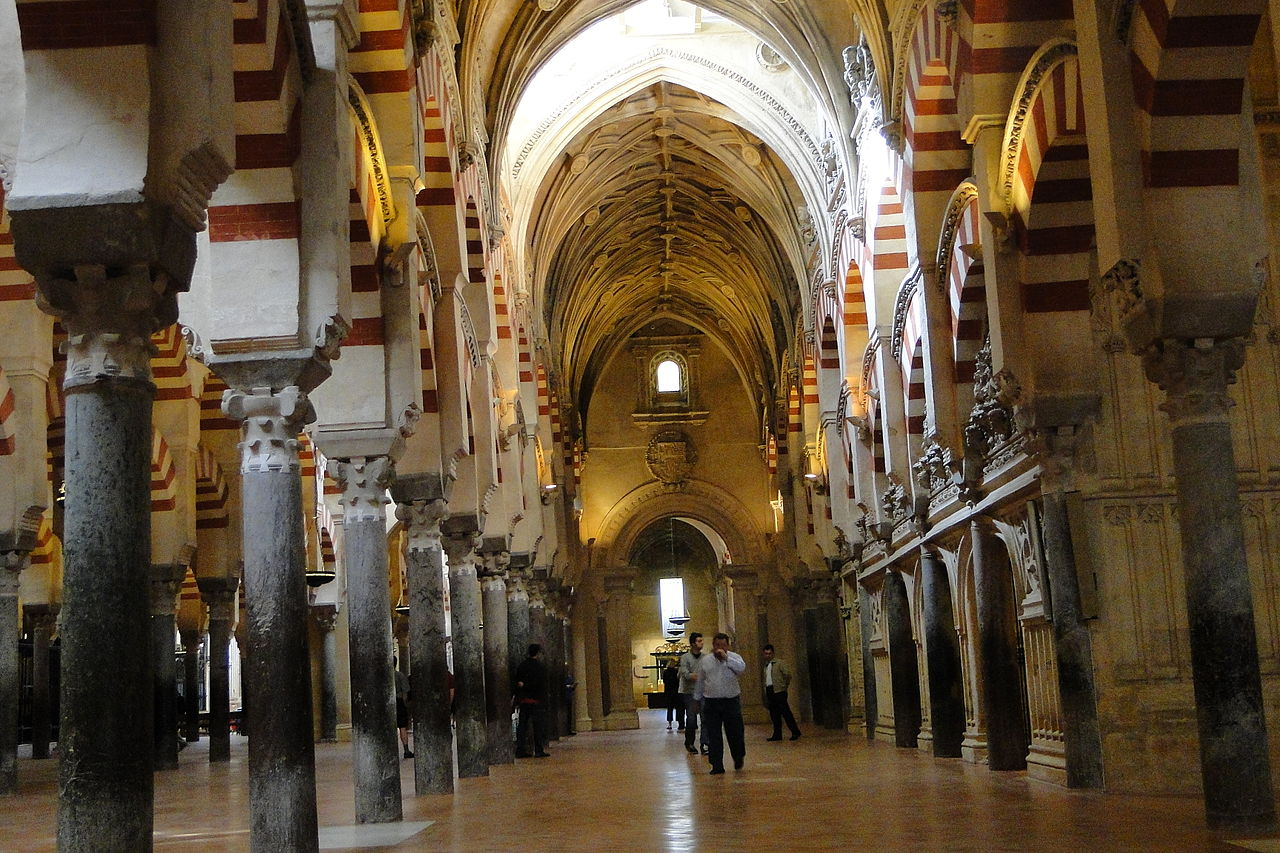 File the mezquita ancient mosque and cathedral complex for Interior mezquita de cordoba