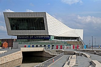 Museum of Liverpool - Image: The Museum of Liverpool, Pier Head, Liverpool (geograph 2978672)