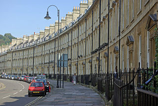 The Paragon, Bath Grade I listed street in Bath and North East Somerset, United Kingdom