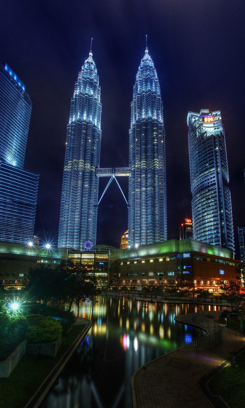 The Petronas Twin Towers & KLCC Park