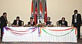 The Prime Minister, Dr. Manmohan Singh and the Prime Minister of Nepal, Dr. Baburam Bhattarai witnessing the signing of agreement between India and Nepal, in New Delhi on October 21, 2011 (2).jpg