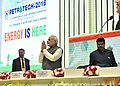 The Prime Minister, Shri Narendra Modi at the PETROTECH-2016 12th International Oil & Gas Conference and Exhibition, in New Delhi.jpg