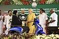 The Prime Minister, Shri Narendra Modi launches the Amma Two Wheeler Scheme, at Kalaivanar Arangam, in Chennai.jpg