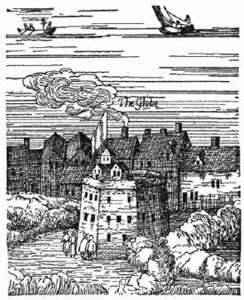 The Rose - mislabeled The Globe - from Visscher's View of London 1616.png