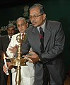 The Secretary (A&C) ,Ministry Of Agriculture, Shri T.Nanda Kumar lighting the Ceremonial Lamp at the inauguration of the National Seminar on Agriculture Extension, in New Delhi on February 27, 2009.jpg