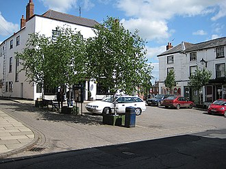 Bromyard - The Square, Bromyard - geograph.org.uk - 807116 circa 2008
