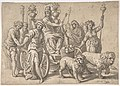 The Triumph of Cybele, after Paolo Fiammingo's 'Triumph of Earth' MET DP803220.jpg
