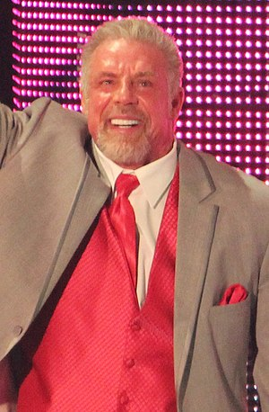 The Ultimate Warrior - Warrior in his last public appearance on April 7, 2014, the day before his death.