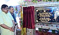 The Union Minister for Steel, Shri Chaudhary Birender Singh laying the foundation stone of the Burns and Plastic Surgery Department of Super Speciality block at Ispat General Hospital under SAIL, in Rourkela, Odisha.JPG