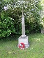 The War Memorial at Holton St. Mary (geograph 4496275).jpg