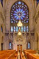 The West Transept is dedicated to the apostolic leader, St. Peter, Sacred Heart Cathedral, Newark.jpg