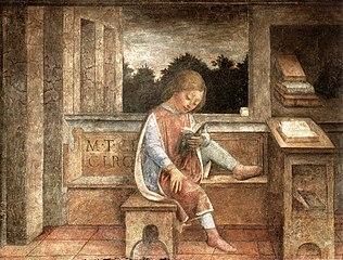 Le Jeune Cicéron à la lecture