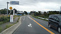 The entrance crossing of Fukushima daiichi Nuclear Power Station from Japan national route no.6 on Sep. 15, 2014.jpg