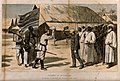 The meeting between David Livingstone and Henry Morton Stanl Wellcome V0018829.jpg