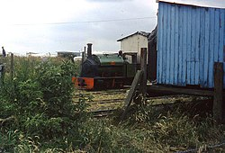 The old sheds of the Lincolnshire Coast Light Railway (geograph 2473055).jpg