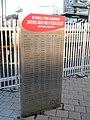 The relief of successive FIA Formula One World Championship JAPANESE GRAND PRIX SUZUKA drivers' in front of Kintetsu Shiroko station.jpg