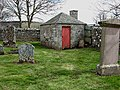 The watch house at Oxnam Parish Churchyard - geograph.org.uk - 772010.jpg