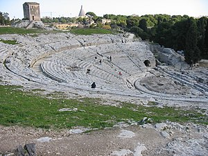 Second Greek colonisation - The theatre at Syracuse