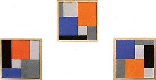 Compositie XVIII in drie delen