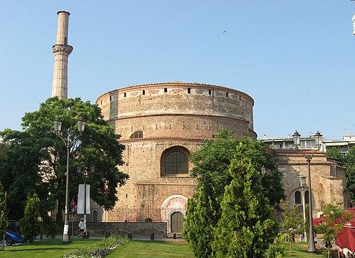 Georgsrotunde in Thessaloniki (UNESCO-Welterbe in Griechenland). Thessiloniki -- Rotonda 04