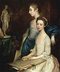 Portrait of the Artist's Daughters