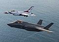 Thunderbirds fly with the F-35A Lightning II 160505-F-HA566-202.jpg