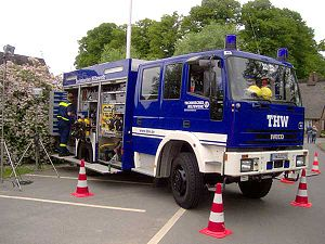 Technisches Hilfswerk - THW Equipment Vehicle (GKW)
